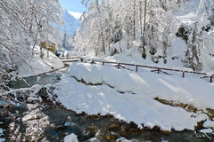 Fusine Lakes River Stock Images