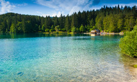 Fusine Lower Lake Royalty Free Stock Images