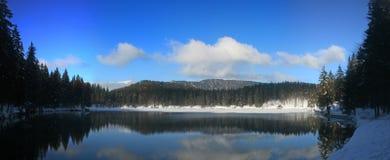 Fusine lower lake panorama Stock Photography