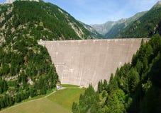Fusio Vallemaggia, dam of elder Stock Photo
