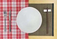 Fusion cooking east meets west Royalty Free Stock Image