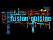 Fusion cuisine Royalty Free Stock Photos