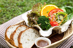 Fusion Food. For healthy life Royalty Free Stock Image