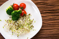Fusion Food. Many kind of vegetable for healthy eating royalty free stock photography