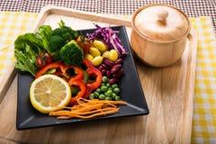 Fusion Food Royalty Free Stock Photo