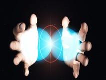 Fusion nucléaire Images stock