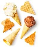 Fusione del gelato Immagini Stock Libere da Diritti