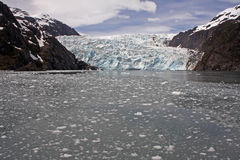 Fusione del ghiacciaio Fotografie Stock Libere da Diritti