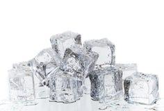 Fusione del ghiaccio fotografia stock