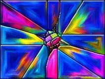 Fusione di colore Fotografie Stock Libere da Diritti