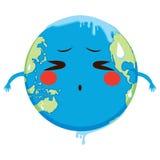 Fusione di concetto di riscaldamento globale Immagine Stock Libera da Diritti