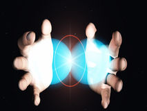 Fusione nucleare Immagini Stock