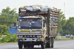 FUSO truck Stock Image