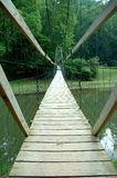 Fuss-Brücke Stockbild