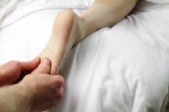 Fuss-Massage Stockfotos