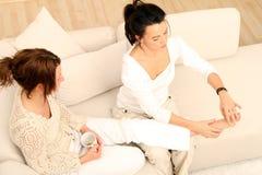 Fuss-Massage Lizenzfreie Stockbilder