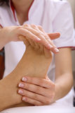 Fuss-Massage Lizenzfreie Stockfotografie