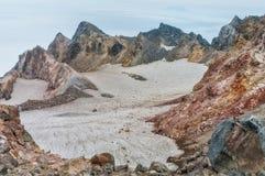 Fuss Peak Volcano, Paramushir Island, Russia. Fuss Peak Volcano, Paramushir Island, Kuril Islands, Russia Stock Images