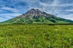 Fuss Peak Volcano, Paramushir Island, Russia. Fuss Peak Volcano, Paramushir Island, Kuril Islands, Russia Stock Image