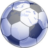 Fussball_globus_hs Stock Photo