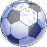 Fussball_globus_hs Photo stock