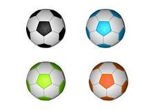 FUSSBALL-KUGEL ODER FUSSBALL Stockfotos