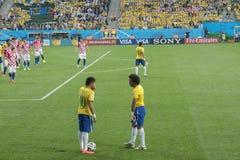 FUSSBALL-WELTMEISTERSCHAFT BRASILIEN 2014 lizenzfreies stockbild