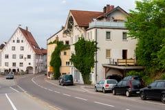Fussen, Allemagne, le 26 mai 2018 Rue en Bavière de Fussen Allemagne images stock