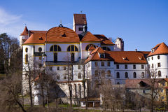Fussen castle Royalty Free Stock Photo