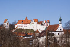 Fussen castle Royalty Free Stock Images