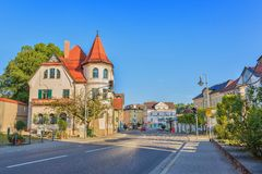 Fussen - Bavaria - Germany. Morning time at Fussen city, Bavaria Germany Stock Photography