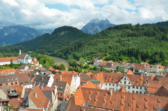 Fussen Germany ,city del'allgau 2 Royalty Free Stock Photo