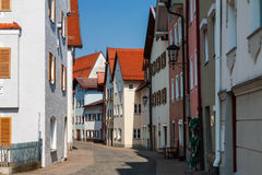 Fussen, Germany old town street Stock Photography