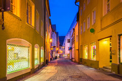 Fussen town in Bavaria, Germany Royalty Free Stock Images