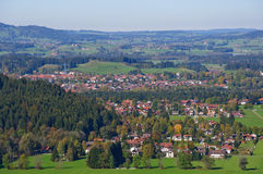 Fussen Tyskland royaltyfria foton