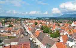 Fussen Tyskland, stadsdel'allgau 1 Arkivbilder