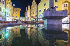 Fussen, vecchia città della Germania Immagini Stock