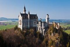 城堡fussen德国neuschwanstein 免版税库存图片