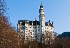 城堡fussen德国neuschwanstein 库存图片