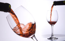 Fussion de la secuencia del vino Imágenes de archivo libres de regalías