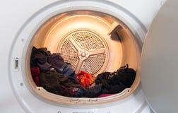 Fusto di asciugatrice dometstic Fotografia Stock