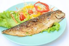 Futabas Fische gegrillt Stockbilder