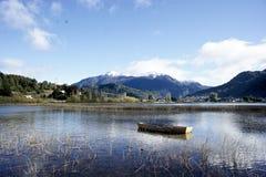 Futalefu в Патагонии Чили Стоковое Изображение