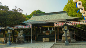 Futarasan寺庙 库存图片