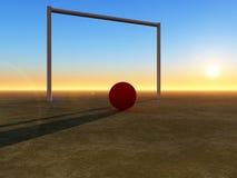 Futbol 6 Obraz Royalty Free