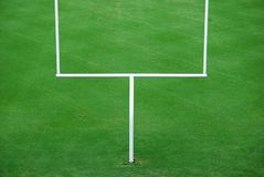 futbol amerykański bramkowa pocztę Fotografia Stock