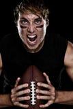 Futbol amerykański gracz Zdjęcia Stock
