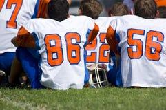 futbol amerykański młodości Zdjęcia Royalty Free