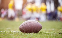 Futbol amerykański - piłka fotografia royalty free