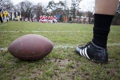 Futbol amerykański - piłka zdjęcia stock